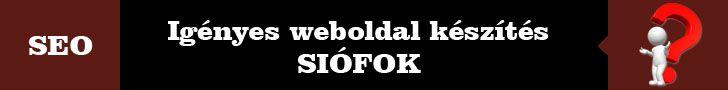 Igényes weboldal készítés banner