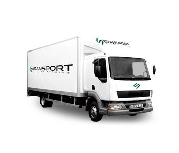 költöztető teherautó